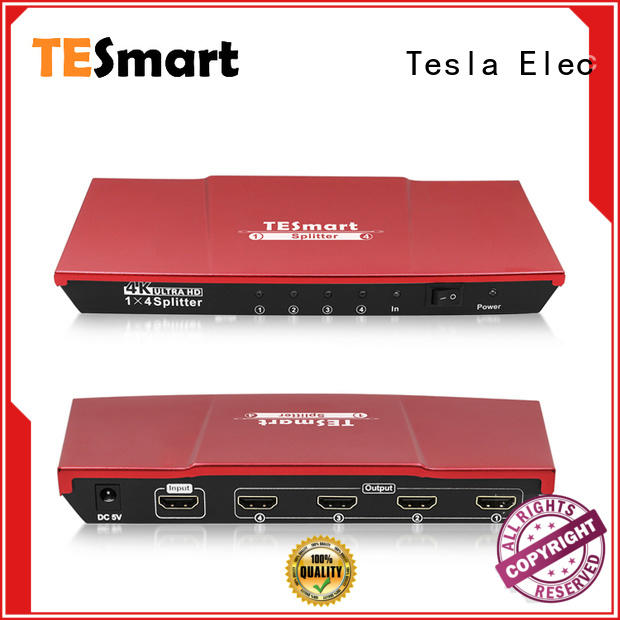 Tesla Elec hdmi output splitter supplier for computers