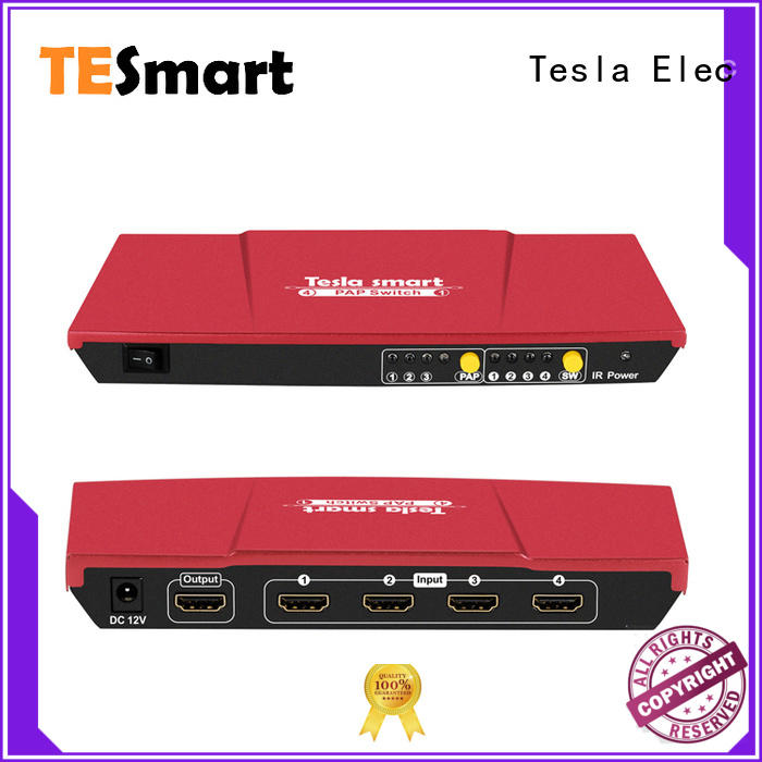 Tesla Elec top 5 port hdmi switch directly sale for media player