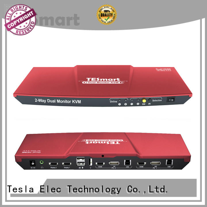 Tesla Elec high-quality kvm switch wholesale for computer