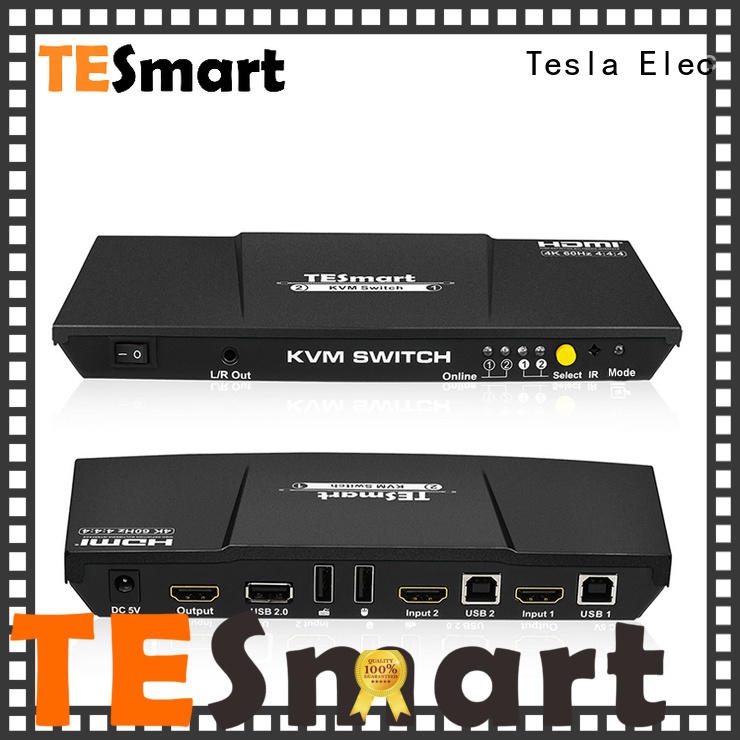 Tesla Elec reliable kvm switch 8 port directly sale for computer