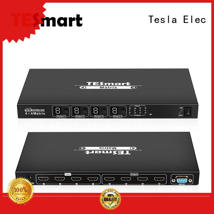 Tesla Elec stable hdmi matrix 2x2 for media player