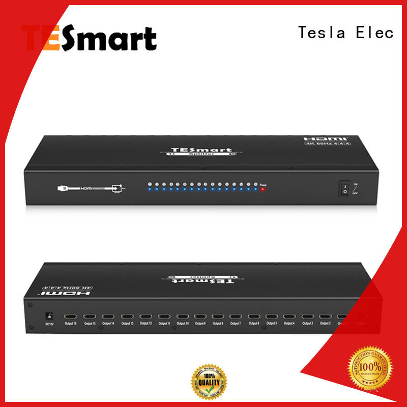 Tesla Elec high quality hdmi splitter with good price for media player