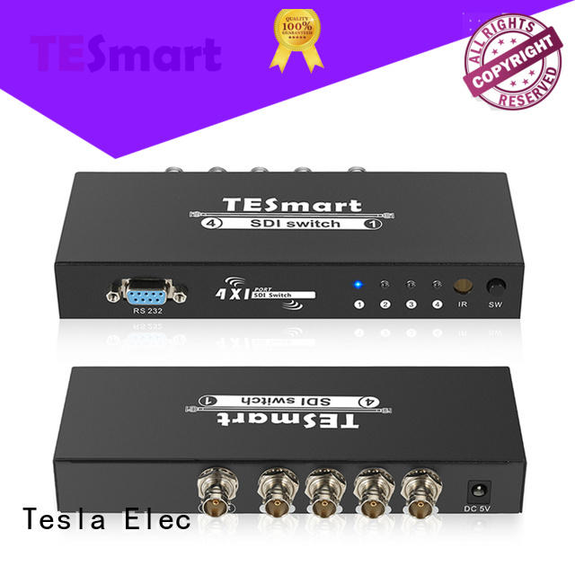 Tesla Elec compatible sdi switch supplier for video