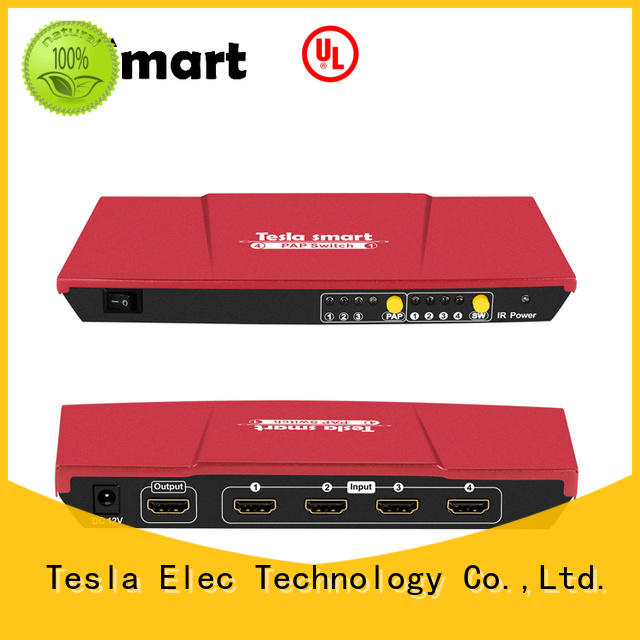 Tesla Elec custom 2 port hdmi switch factory for media player