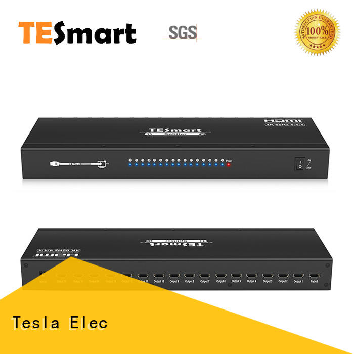 Tesla Elec 1x2 hdmi splitter 1 in 2 out customized for display device