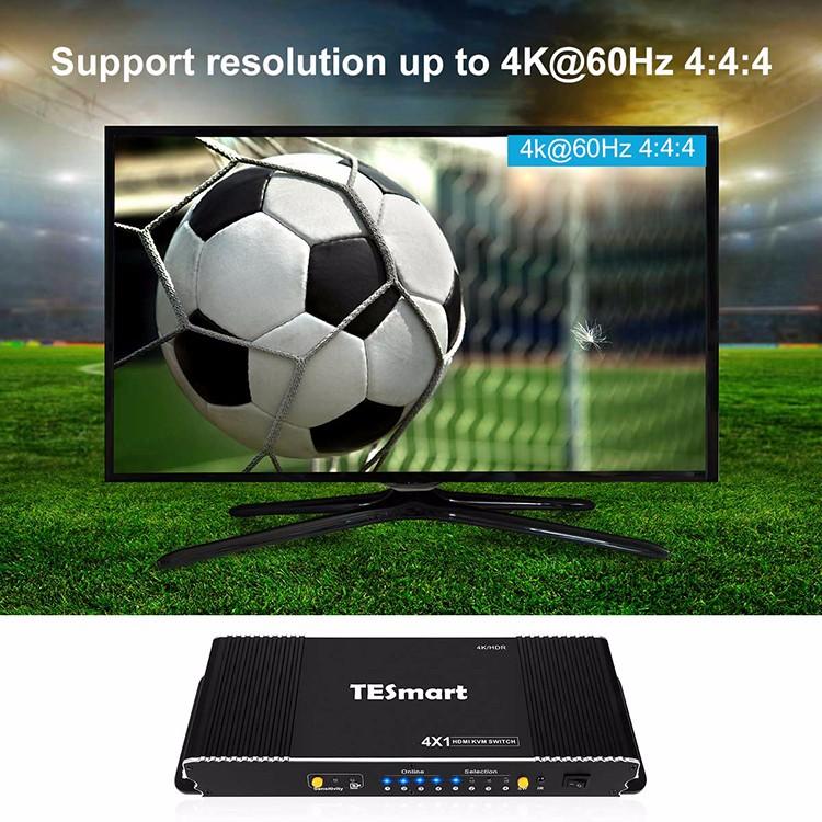Tesla Elec 4x1 kvm switch 8 port wholesale for television-5
