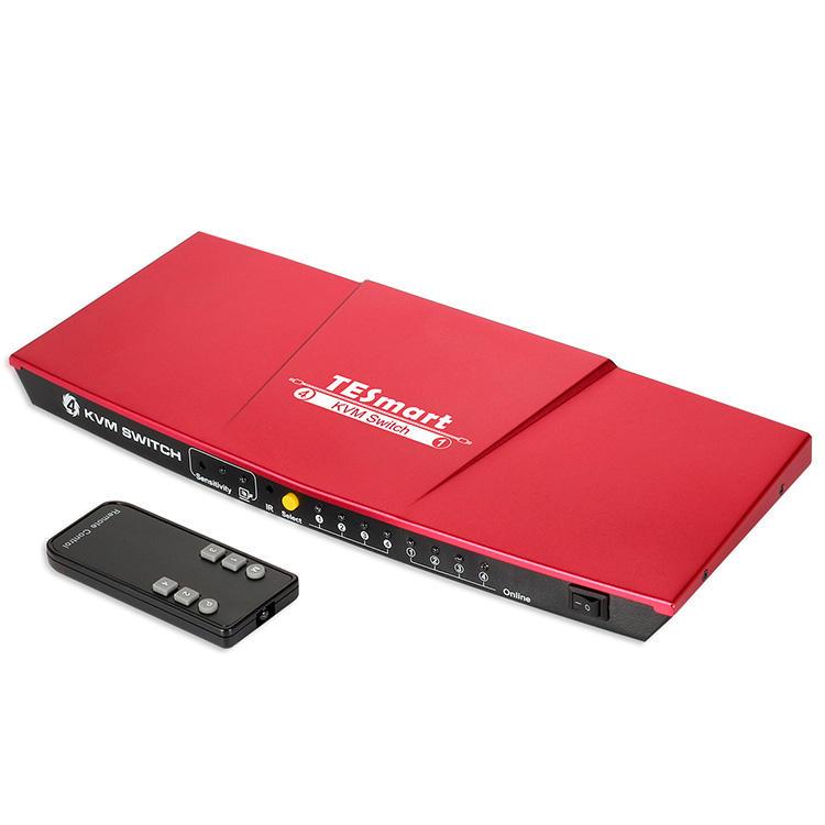 4x1 HDMI KVM Switch w/ USB2.0