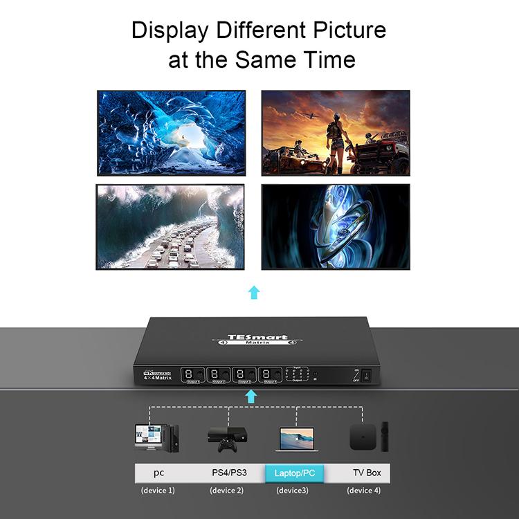 Tesla Elec stable hdmi matrix 2x2 for media player-6