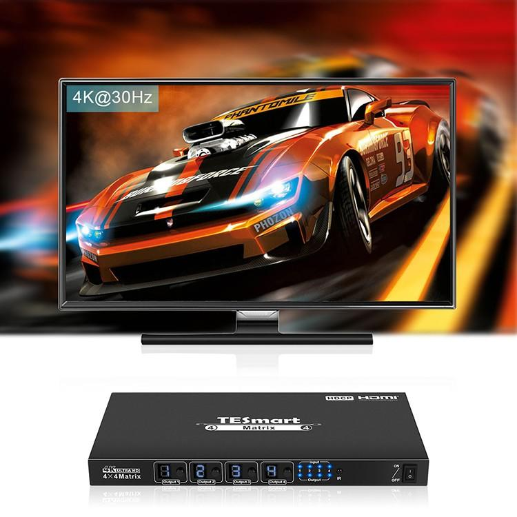 hot selling hdmi matrix switcher 8x8 customized for video