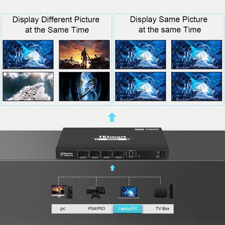 hot selling hdmi matrix switcher 8x8 customized for video-6