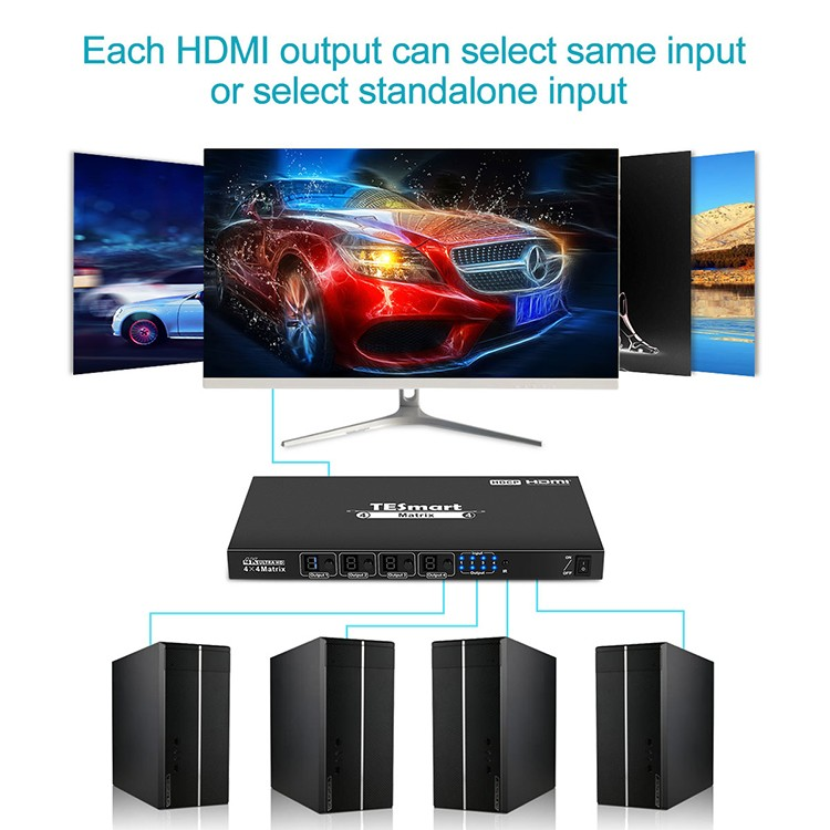 hot selling hdmi matrix switcher 8x8 customized for video-7
