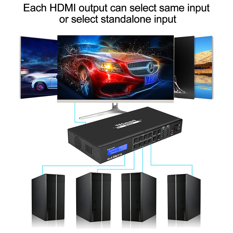 compatible hdmi over ip matrix manufacturer for computers-7