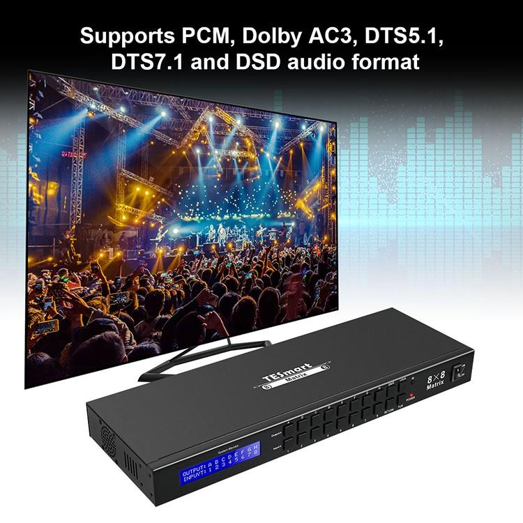 hot selling hdmi matrix 16x16 customized for media player