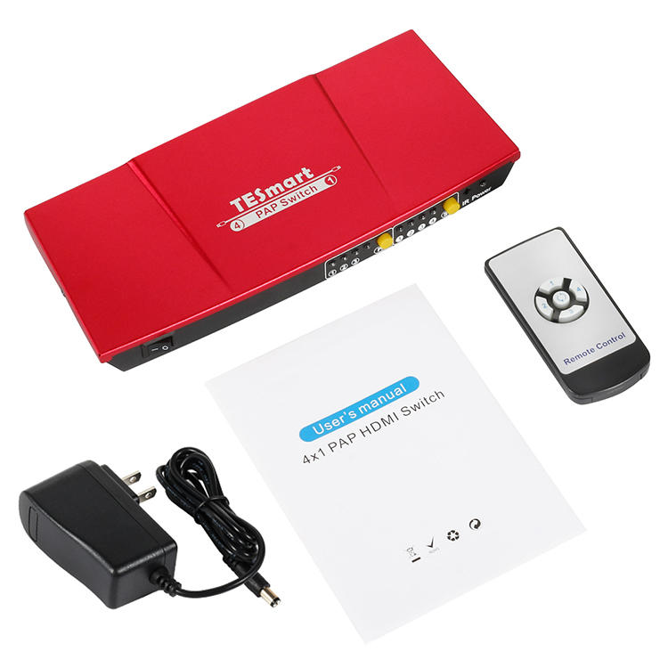 Tesla Elec stable best 4k hdmi switch wholesale for DVD player