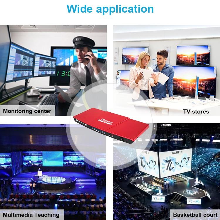 Tesla Elec hdmi splitter 4k directly sale for display device-4