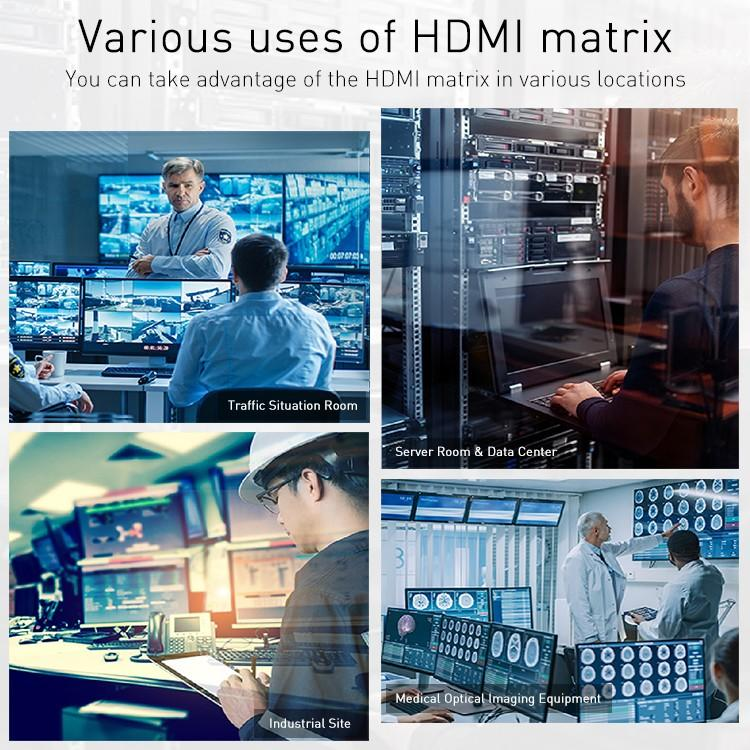Tesla Elec hdmi matrix 4x2 manufacturer for computers