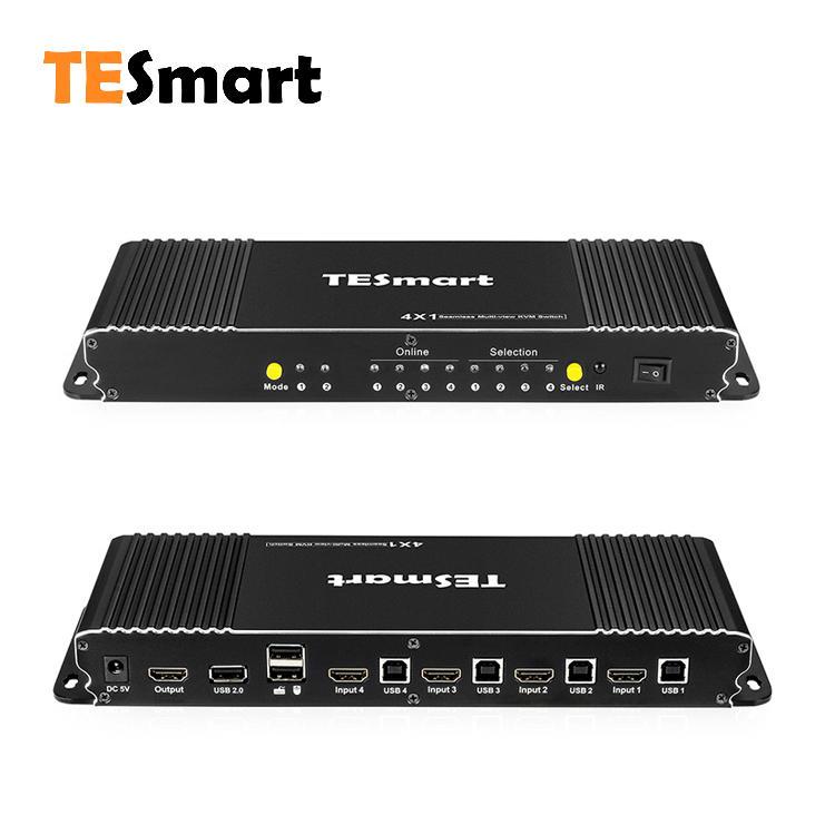 4x1 Seamless Multi-view KVM Switch