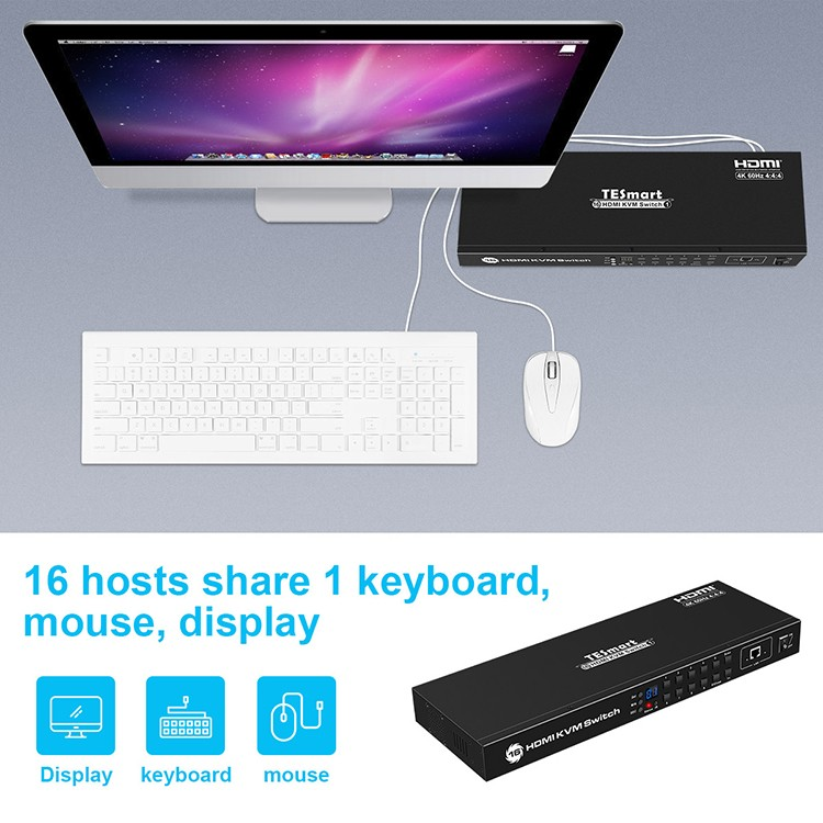 high quality kvm switch directly sale for printer-8