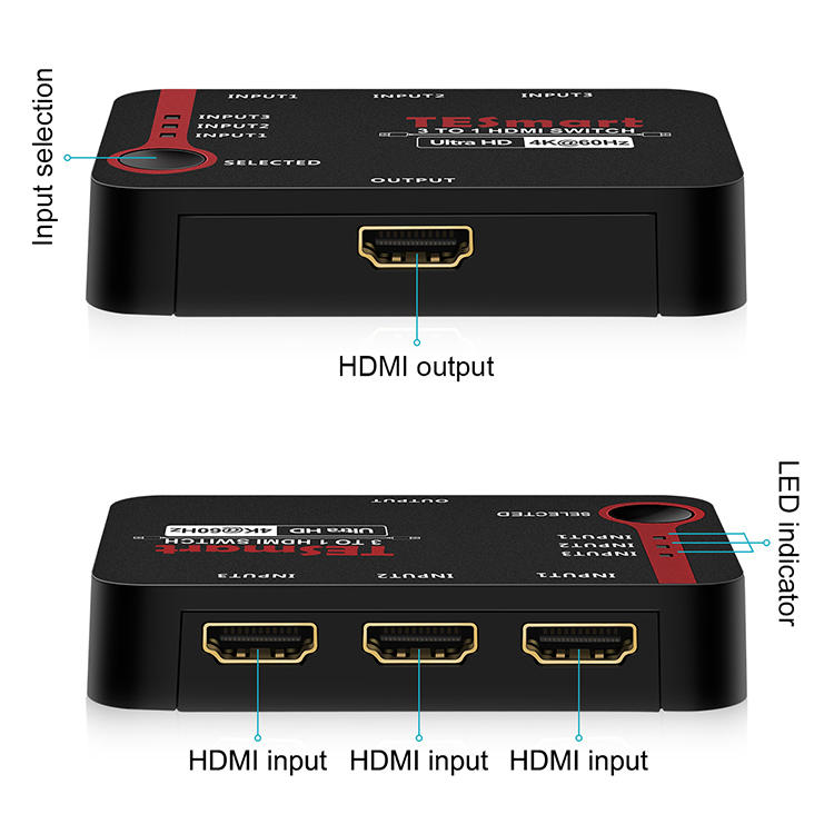 stable dual hdmi switch wholesale for DVD player