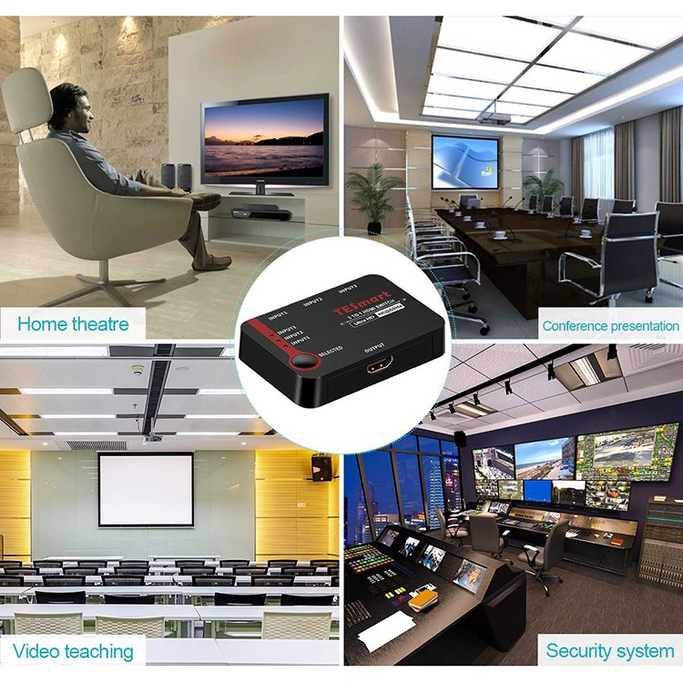 stable dual hdmi switch wholesale for DVD player-4