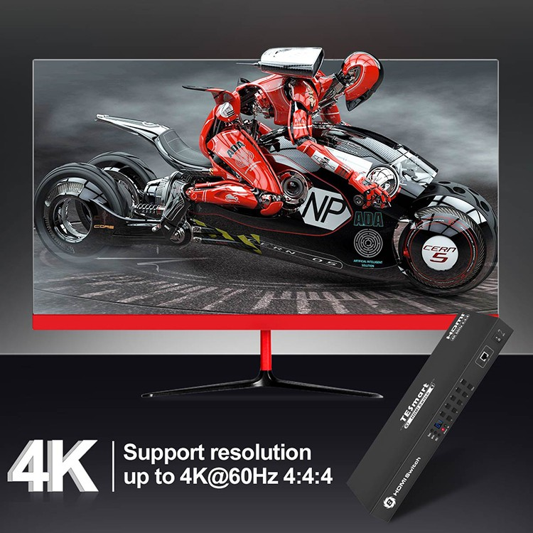 best 4k hdmi switch factory for display device Tesla Elec-5