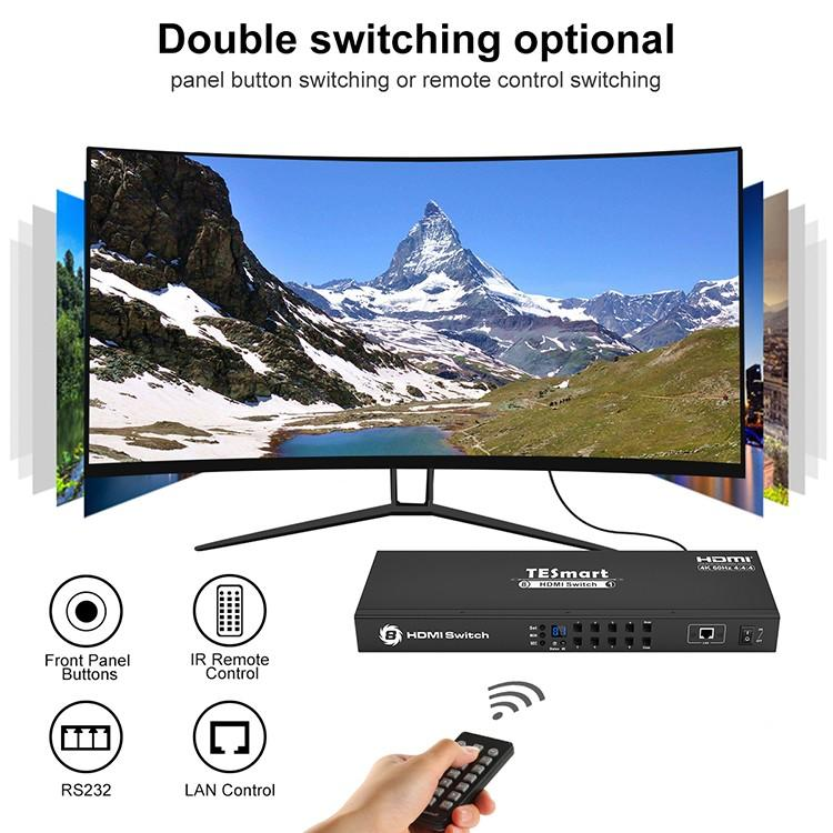best 4k hdmi switch factory for display device Tesla Elec