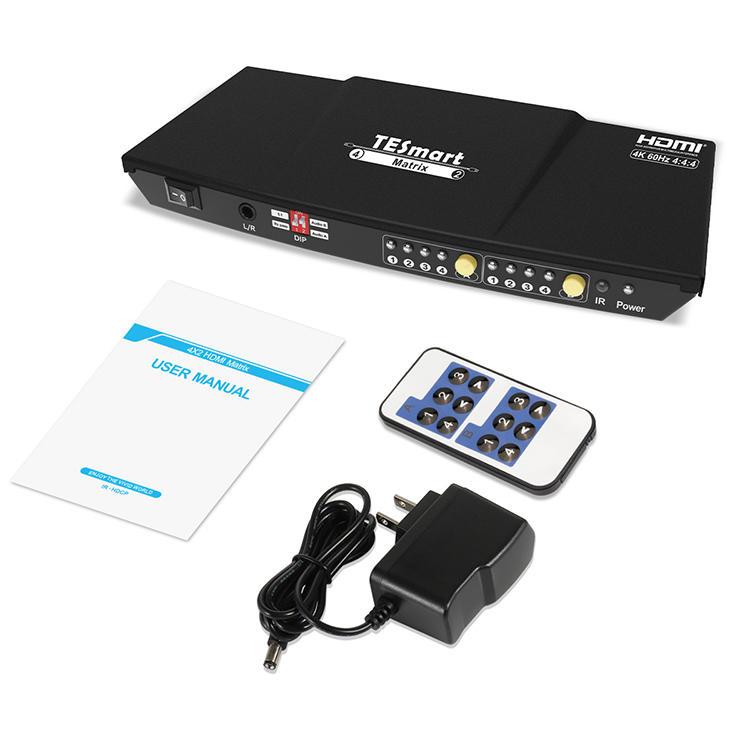 4x2 HDMI Matrix 4K@60Hz 4:4:4