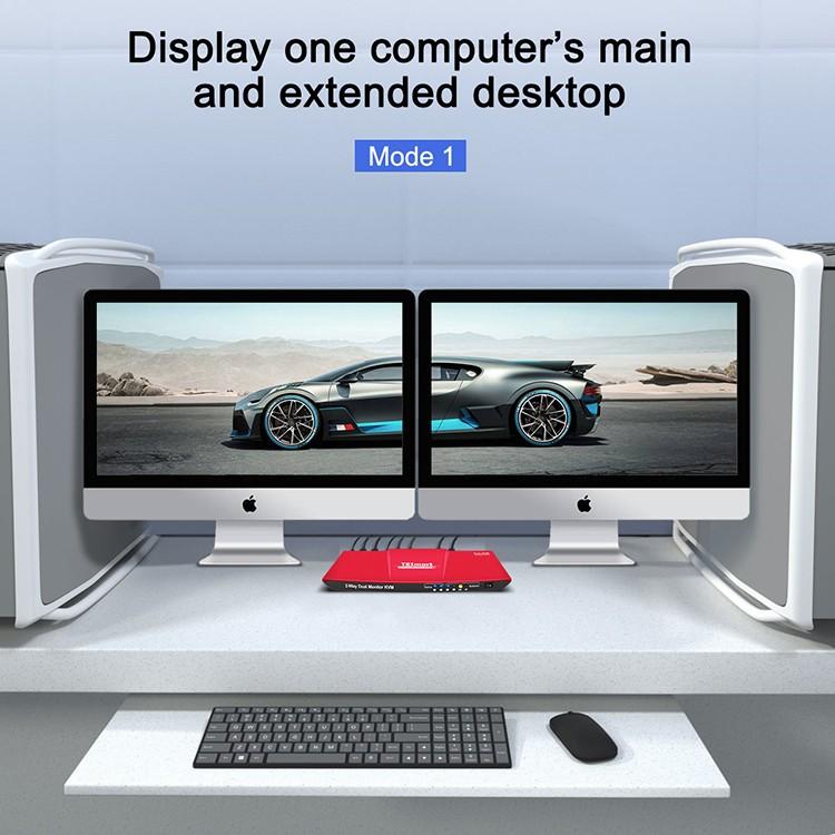 Tesla Elec high quality kvm switch directly sale for printer-8