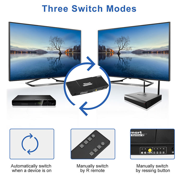 aluminum alloy hdmi splitter 1x16 factory price for display device