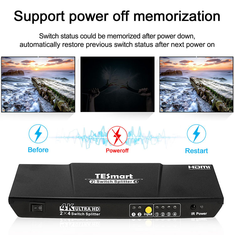 aluminum alloy hdmi splitter 1x16 factory price for display device-8