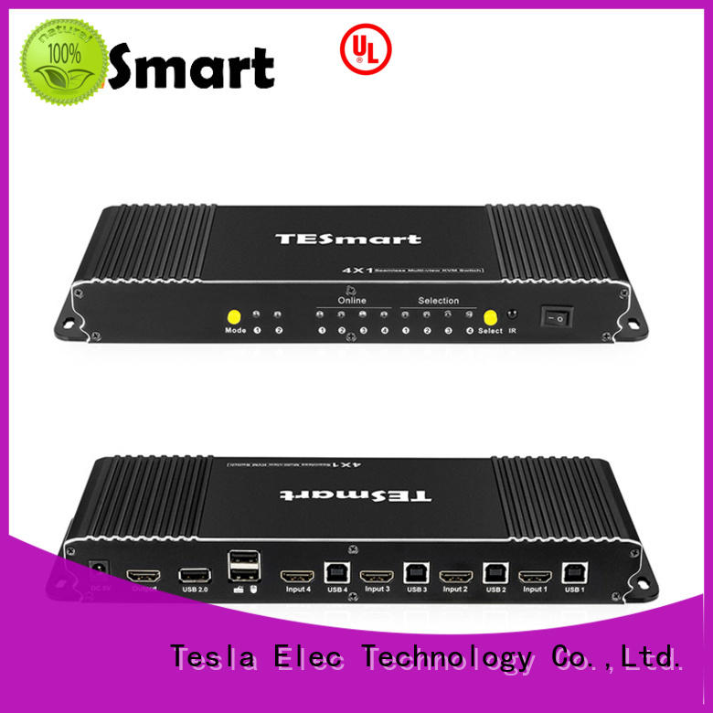 Tesla Elec remote kvm switch supplier for checkout counter