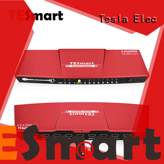 Tesla Elec hdmi splitter 1 in 2 out wholesale for computers