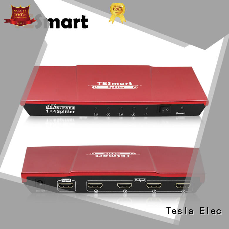Tesla Elec 1x8 hdmi splitter 2 in 1 out wholesale for DVD player
