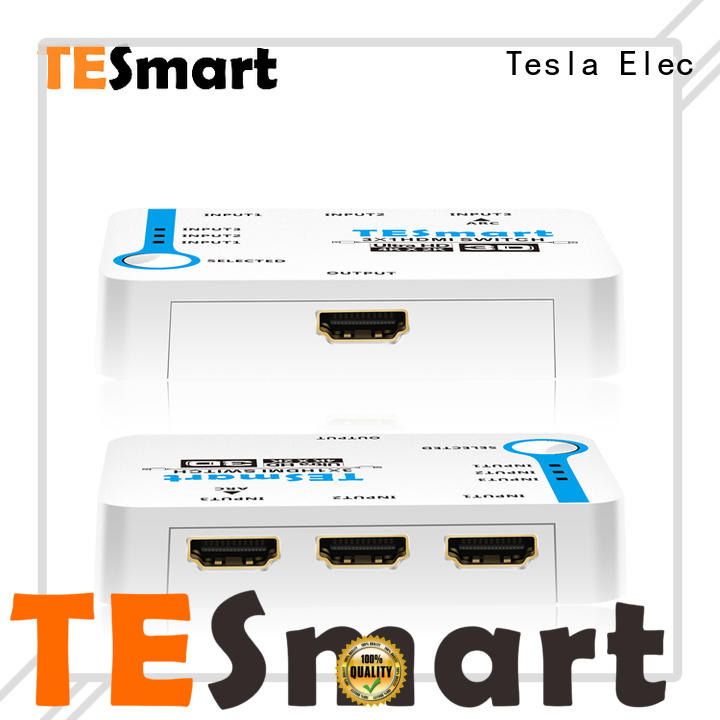 Tesla Elec smart hdmi switch factory for display device