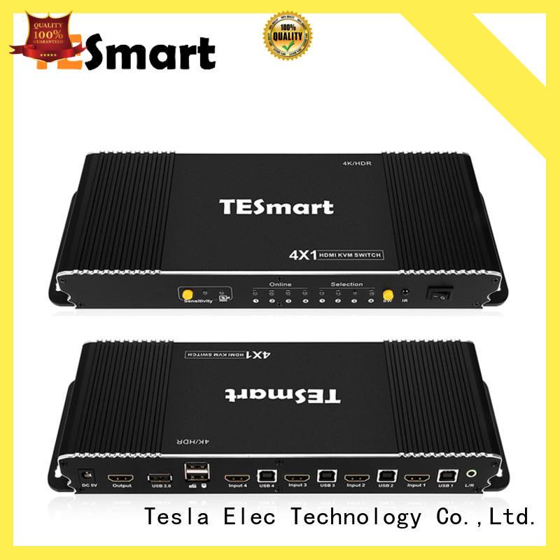 Tesla Elec custom kvm switch 4 port supplier for computer
