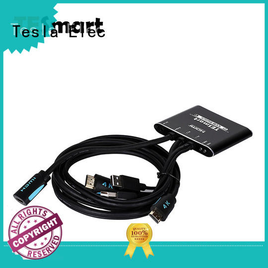 Tesla Elec high quality multi-view kvm switch for television