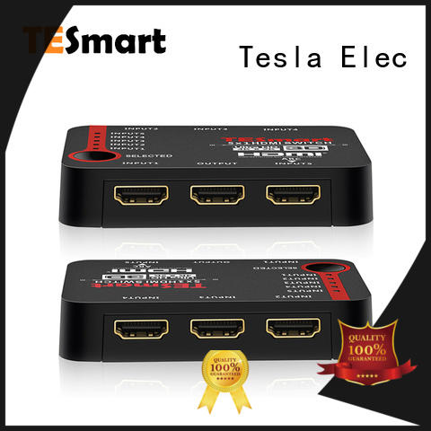 Tesla Elec hdmi switch with remote wholesale for computers