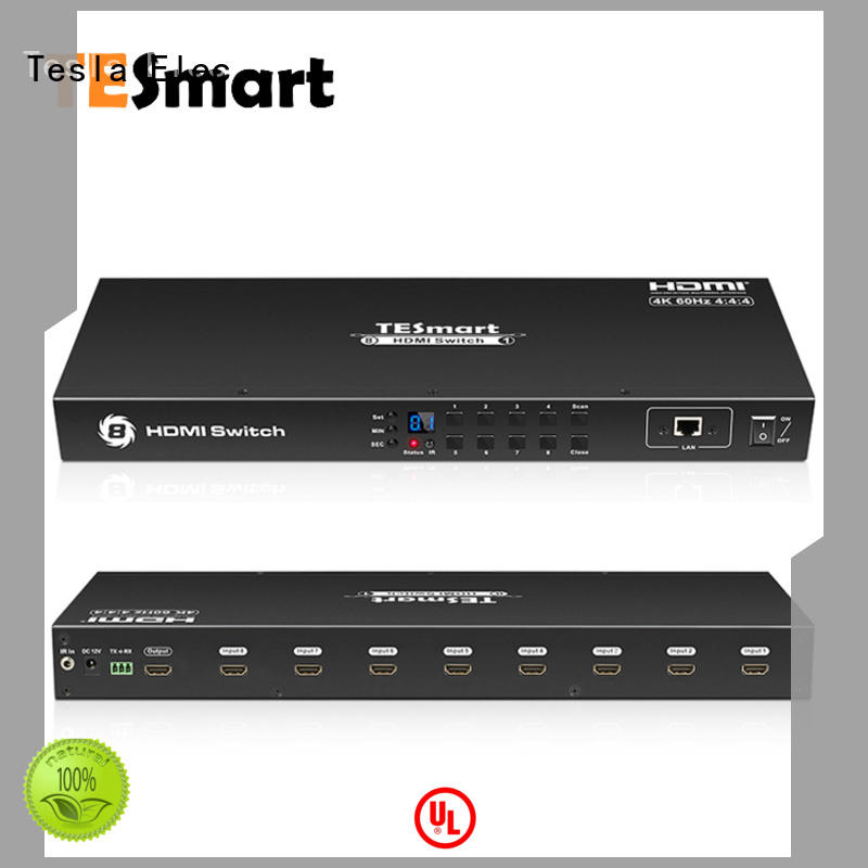 Tesla Elec compatible multi view hdmi switch for DVD player