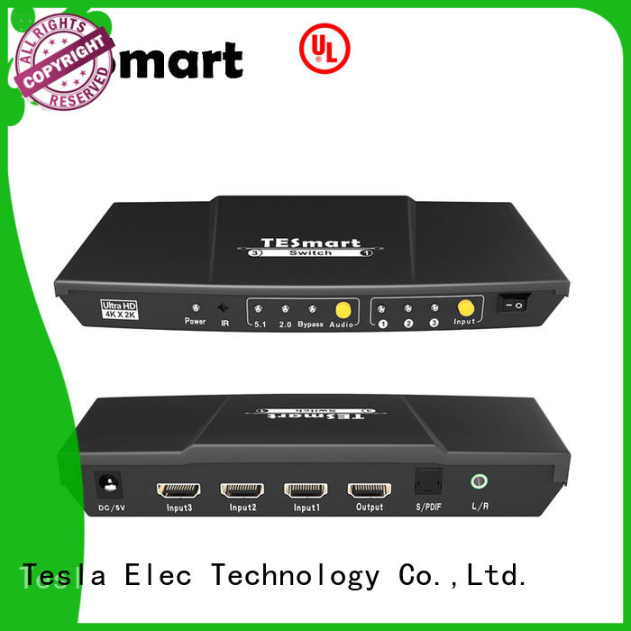 Tesla Elec pap 2 port hdmi switch wholesale for display device
