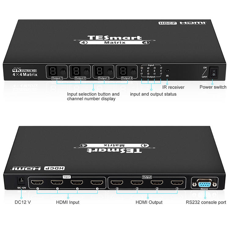 hot selling hdmi matrix switcher 8x8 customized for video-1