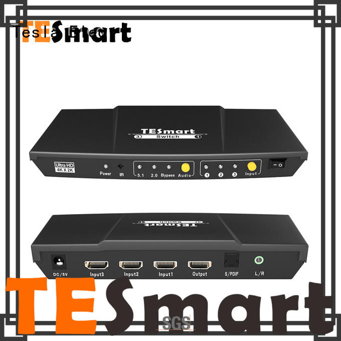 Tesla Elec durable multi view hdmi switch for computers