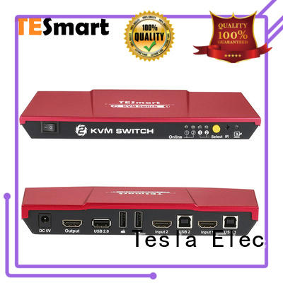 Tesla Elec seamless multi-view kvm switch manufacturer for computer