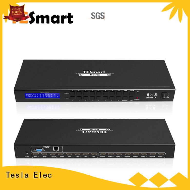 support 1080p 4k hdmi matrix switcher 8x8 supplier for media player