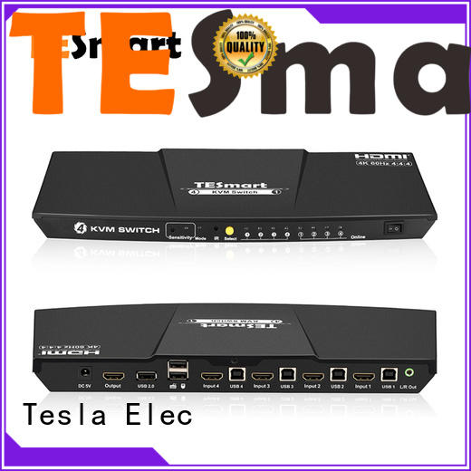 Tesla Elec 4x1 kvm switch dvi with good price for printer