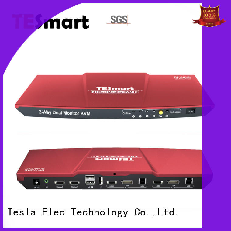 Tesla Elec kvm switch with good price for computer