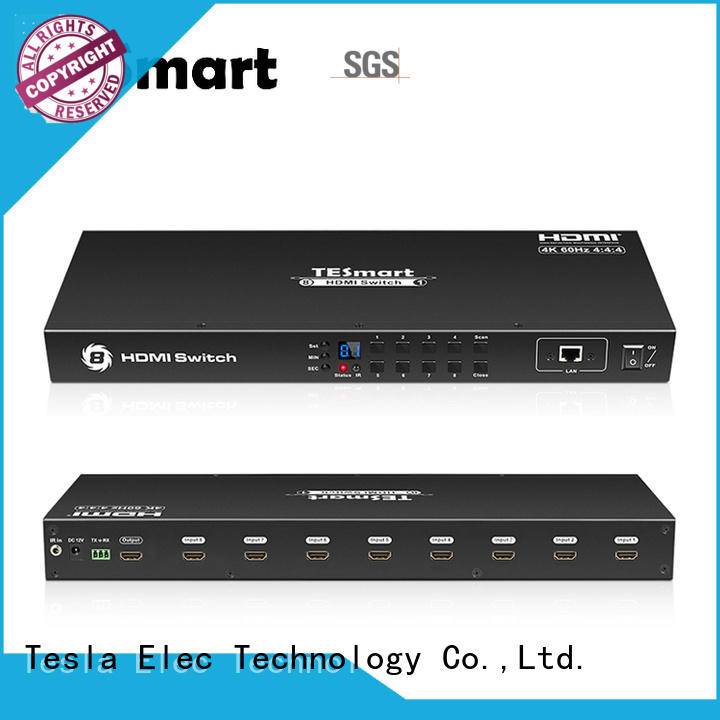 Tesla Elec best 4k hdmi switch supplier for media player