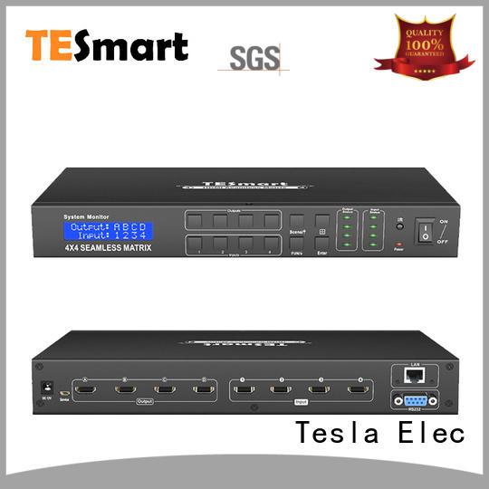 Tesla Elec latest best hdmi matrix manufacturer for video