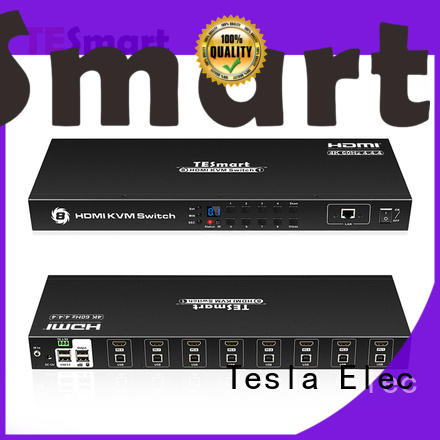 Tesla Elec high quality multi-view kvm switch supplier for television