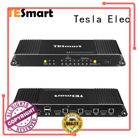 Tesla Elec high quality kvm switch dual monitor supplier for computer