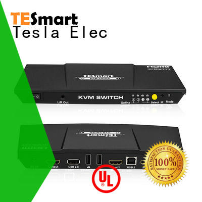 Tesla Elec kvm switch 8 port supplier for checkout counter